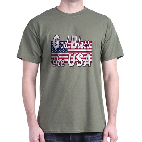 God Bless the USA Dark T-Shirt