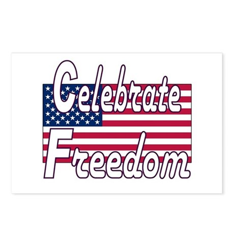 Celebrate Freedom Postcards (Package of 8)