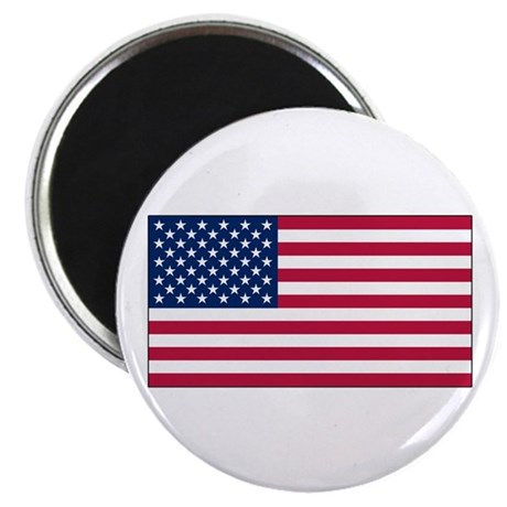 "USA Flag 2.25"" Magnet (100 pack)"