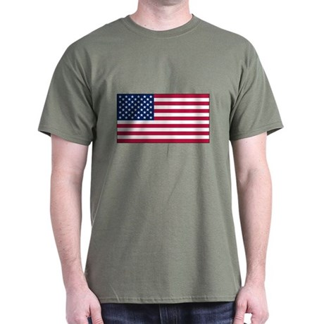 USA Flag Dark T-Shirt