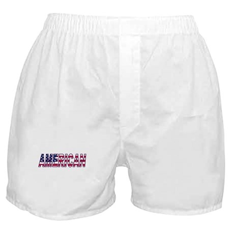 US Flag American Boxer Shorts
