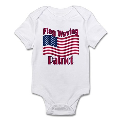 Patriot Flag Infant Bodysuit