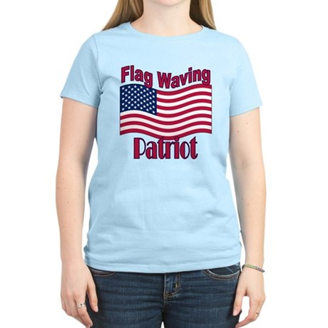 Patriot Flag Women's Light T-Shirt