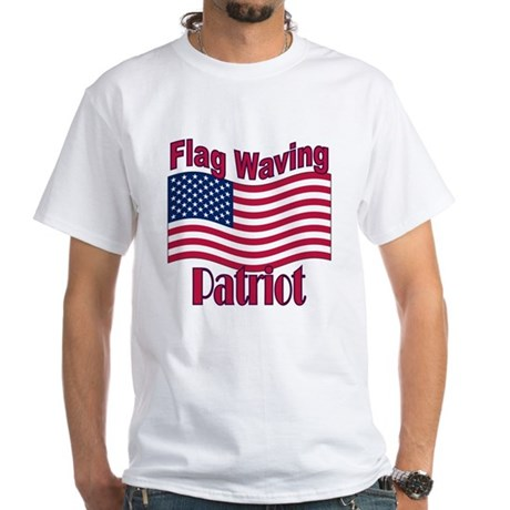 Patriot Flag White T-Shirt