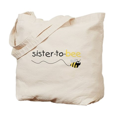 sister to be t shirt Tote Bag