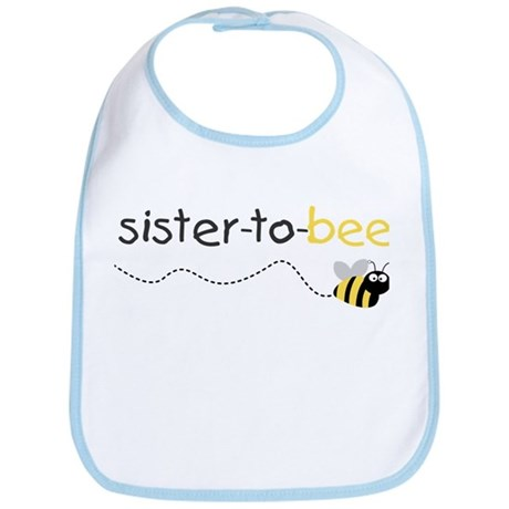 sister to be t shirt Bib