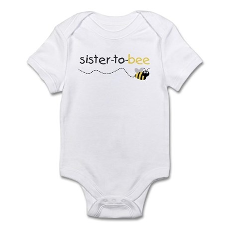 sister to be t shirt Infant Bodysuit