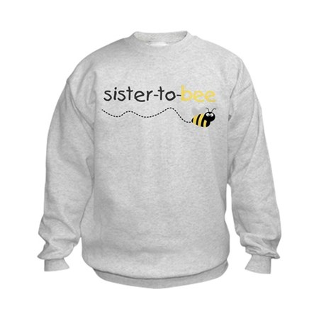 sister to be t shirt Kids Sweatshirt