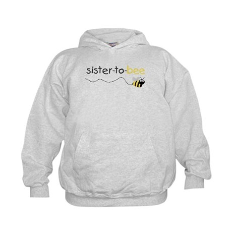 sister to be t shirt Kids Hoodie