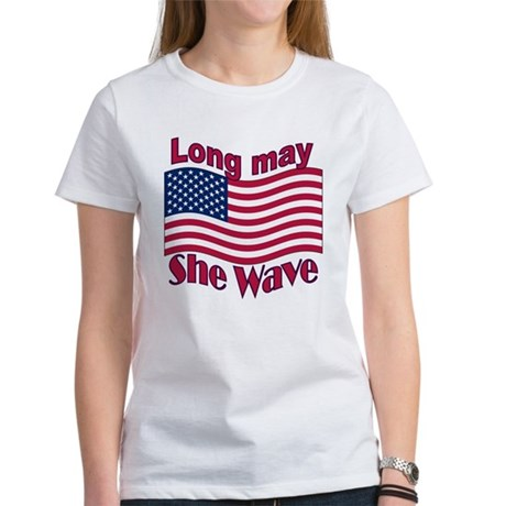 Long may she wave Women's T-Shirt
