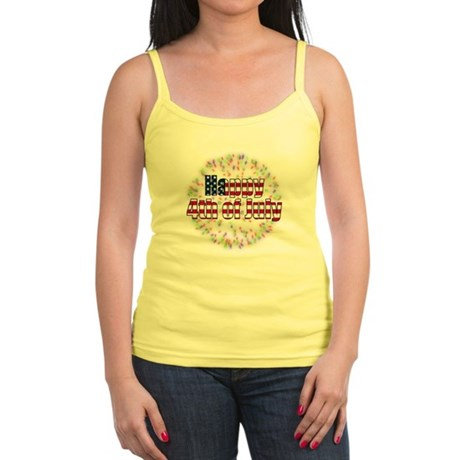 Happy 4th of July Fireworks Jr. Spaghetti Tank