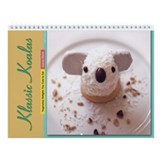 """Vegetarian Delights"" Book Koala Wall Calendar"
