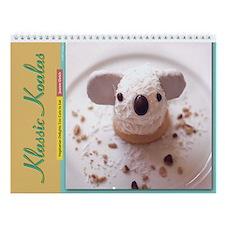 """Vegetarian Delights"" Book Koala Wall Calendar"