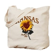 Kansas - The Sunflower State! Tote Bag