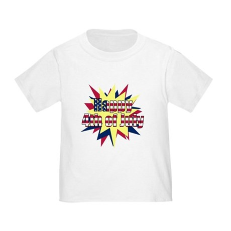 Starburst 4th of July Toddler T-Shirt