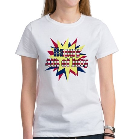 Starburst 4th of July Women's T-Shirt