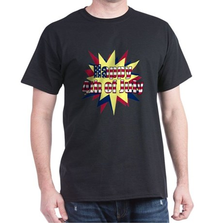 Starburst 4th of July Dark T-Shirt