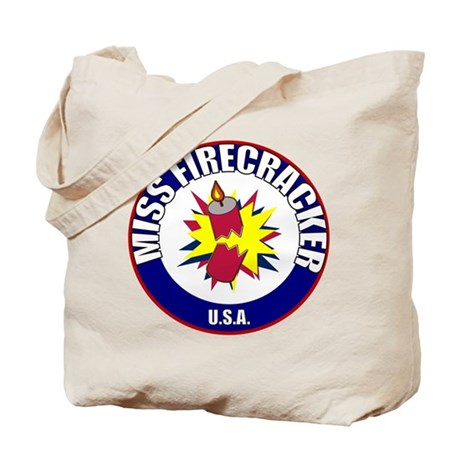 Miss Firecracker Tote Bag