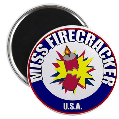 "Miss Firecracker 2.25"" Magnet (100 pack)"