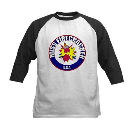 Miss Firecracker Kids Baseball Jersey