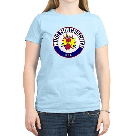 Miss Firecracker Women's Light T-Shirt