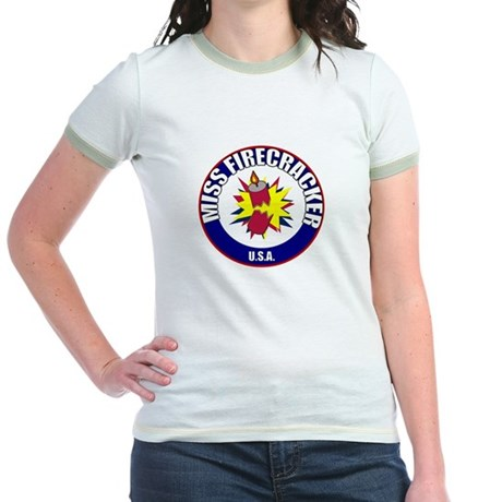 Miss Firecracker Jr. Ringer T-Shirt