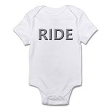 Diamond Plated RIDE Infant Bodysuit