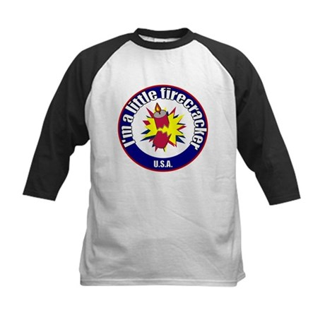 Little Firecracker Kids Baseball Jersey
