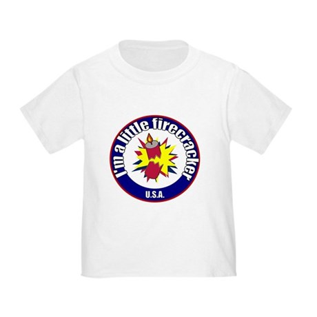 Little Firecracker Toddler T-Shirt