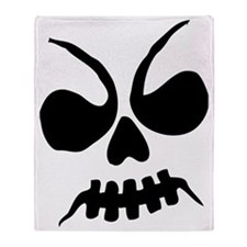 Scary Halloween Ghoul Throw Blanket