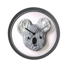 """Vegetarian Delights"" Book Koala Wall Clock"