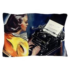 Vintage Business, Secretary Pillow Case