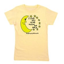 I LOVE YOU TO THE MOON AND BACK Girl's Tee