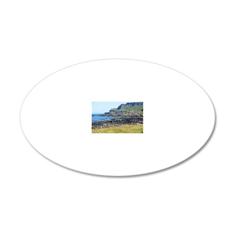 Giants Causeway 20x12 Oval Wall Decal
