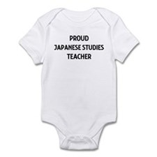 JAPANESE STUDIES teacher Infant Bodysuit