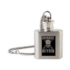 Zombie Hunter Flask Necklace