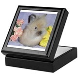 Lionhead Rabbit Keepsake Box