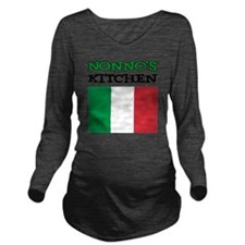 Nonnos Kitchen Itali Long Sleeve Maternity T-Shirt