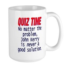 Quiz Time - Anti Kerry Mug