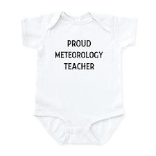 METEOROLOGY teacher Infant Bodysuit