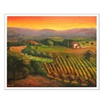 Napa Vineyards Small Poster
