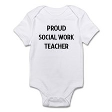 SOCIAL WORK teacher Infant Bodysuit