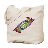 GAY PRIDE RAINBOW SWIRL Tote Bag
