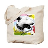 English Bull Terrier Punk Tote Bag