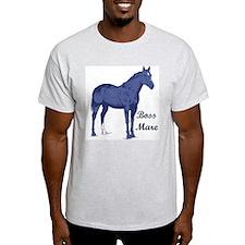 QHBoss Ash Grey T-Shirt