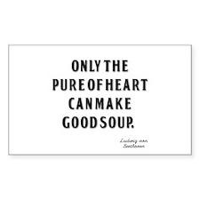 Good Soup Rectangle Sticker