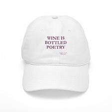Wine Poetry Cap