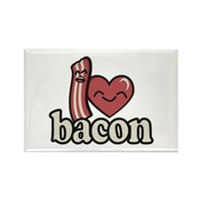 I Heart Bacon Magnets