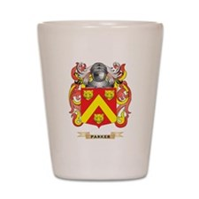 Parker Coat of Arms (Family Crest) Shot Glass