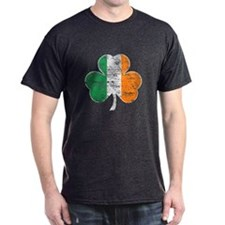 Vintage Irish Flag Shamrock T-Shirt